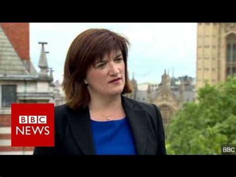 nicky morgan: gove's not offered me job bbc news youtube