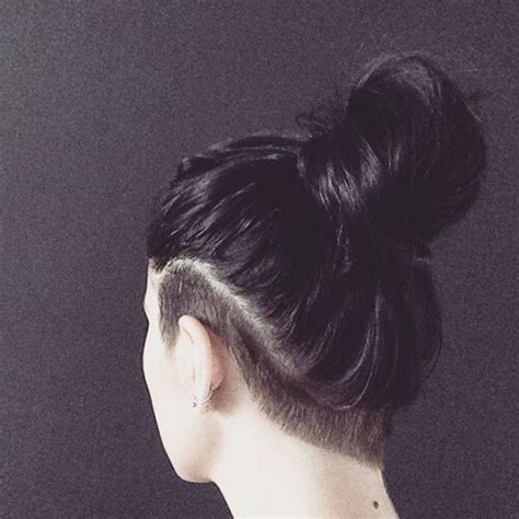 women shave pubic hairbun style meaning 60 chic edgy undercut design ideas hair motive hair motive