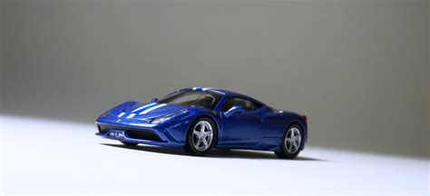 Fferrari 458 Speciale Minicar Collection 10 Kyosho 1 64 Silve esp kyosho 458 speciale