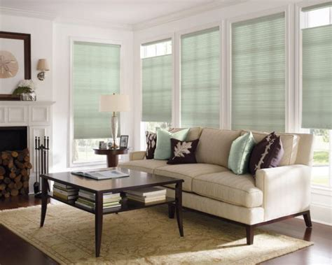 Blinds For Living Room Windows | why cellular shades suit most homes
