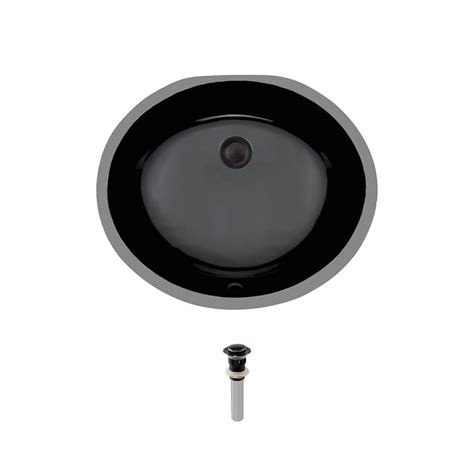 mr direct bathroom sinks mr direct undermount porcelain bathroom in black with