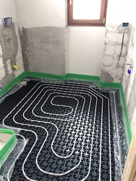 riscaldamento a pavimento ribassato impianto riscaldamento pavimento ribassato basso spessore