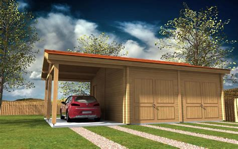 carport 4x5m carport bois traite