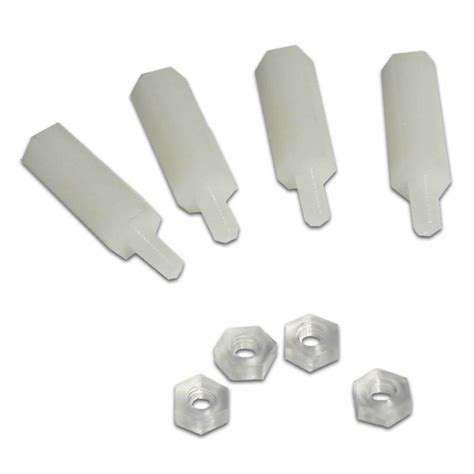 Plastic Legs by Four Plastic Legs 12 Mm Height