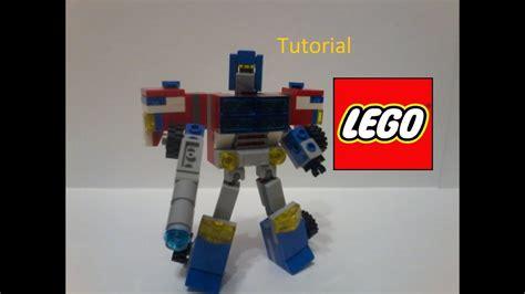 tutorial lego transformers lego transformers cybertron optimus prime v2 tutorial
