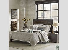 INK+IVY Pomona 3 Piece Taupe Coverlet Mini Set Woolrich Park