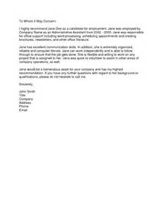 Best Reference Letter From Employer Cover Letter To Former Employer Volunteer Cover Letter Exles Sles Of Resumes For