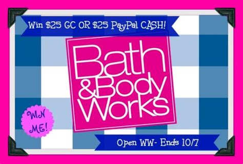 Bath And Body Works Gift Card Balance Check - bath body works gift card giveaway africa s blog