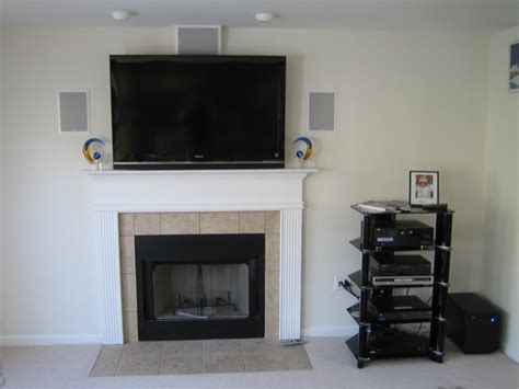 Mount Tv Above Fireplace Hide Wires by Mount Tv Fireplace Hide Wires