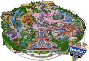 map disneyland florida theme park maps