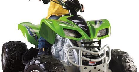 Kawasaki Toddler 4 Wheeler by 12v Power Wheels Kawasaki 4 Wheeler Battery