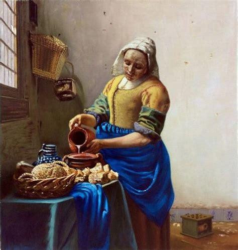 milkmaid vermeer reproduction van gogh studio