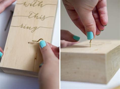 Wedding Ring Holder Diy by Wedding Ring Holder Diy Www Pixshark Images