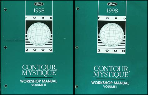 auto repair manual free download 1998 mercury mystique seat position control 1998 ford contour mercury mystique electrical troubleshooting manual