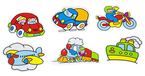 imagenes infantiles medios de transporte 6 medios de transporte the educational corner miniland