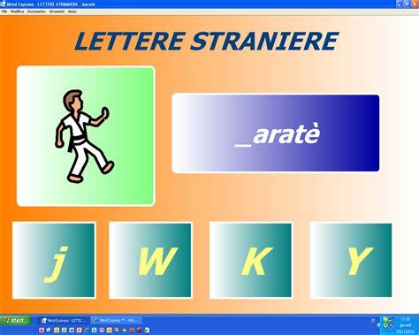 le lettere straniere mind express