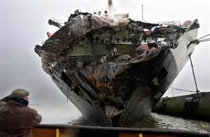 worst maritime accidents the tricolor cargo ship