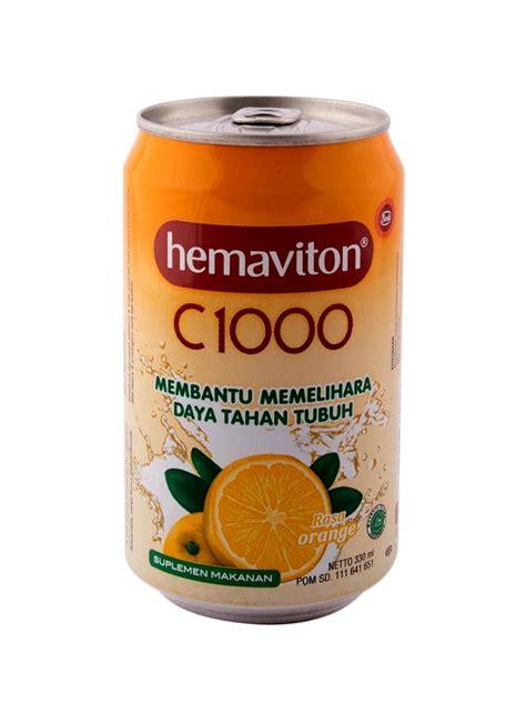 Vitamin Hemaviton hemaviton health drink vitamin c1000 orange klg 330ml klikindomaret