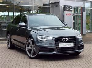 used 2015 audi a6 black edition for sale in lincolnshire