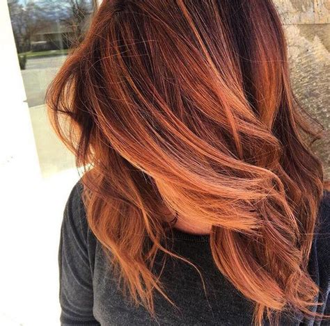 how to fix copper hair best 20 copper balayage ideas on pinterest