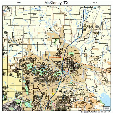 map mckinney texas mckinney texas map 4845744