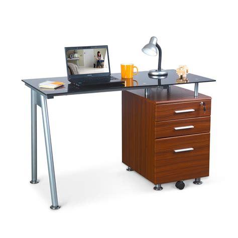 escritorio vidrio escritorio de vidrio danesa promart