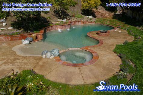 swan pools custom designs desert swan pools custom designs desert oasis 2003 pool