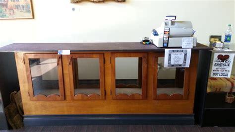 cash register desk for sale checkout counter 275 cash register 150 displays