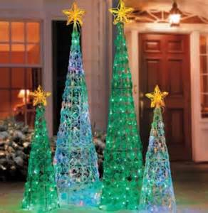 outdoor decorations clearance clearance outdoor lighted cone christmas tree holiday yard