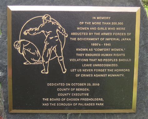 comfort women memorial september 22 2015 a historic day for san francisco and
