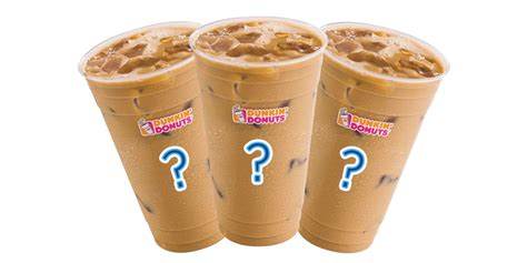 Iced Coffee Dunkin Donuts dunkin donuts iced coffee flavors ranked