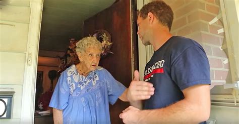 old lady house old woman reported by neighbors for her messy home gets unexpected surprise