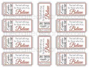 polar express ticket printable template polar express printable ticket new calendar template site