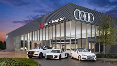 audi dealership exterior sewell audi houston dealership renovation