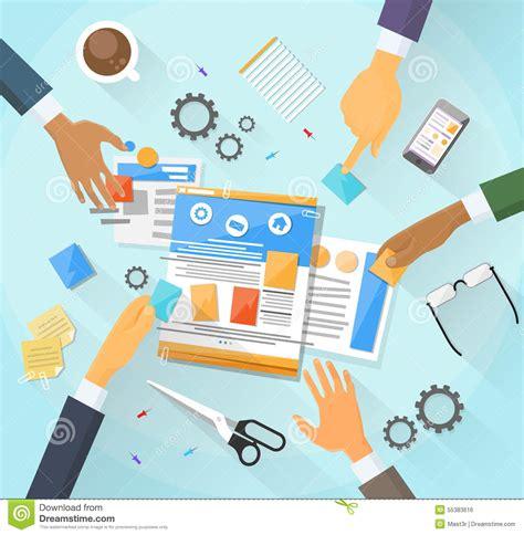 design create web development create design site building team stock