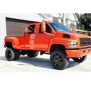 Chevrolet Kodiak C4500 Custom Truck Dually Hualer Bright Orange Paint