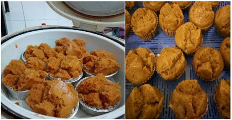 cara buat bolu kukus no mixer resep membuat bolu kukus gula merah magic com no telur