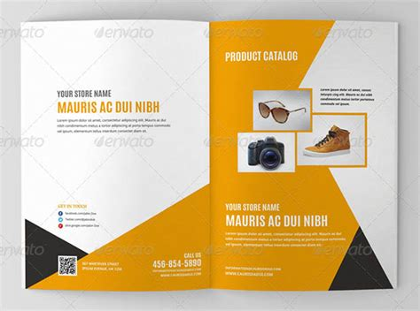 Product Brochure Templates Free brochure template for product template of product