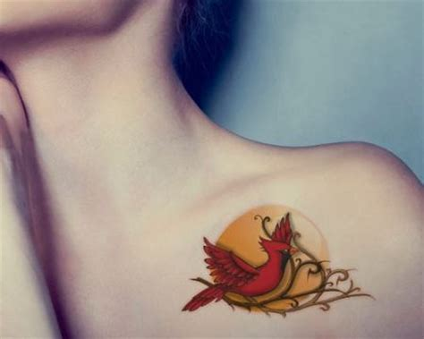 what do bird tattoos mean powerful cardinal bird design ideas and their meanings