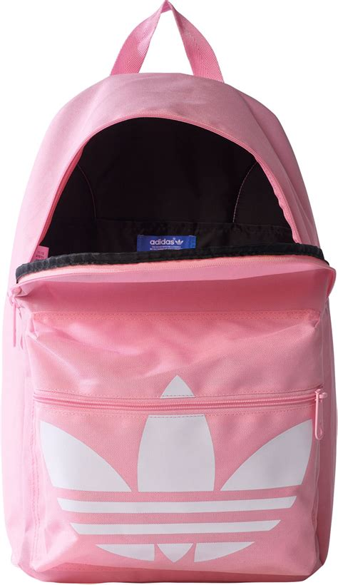 adidas classic trefoil backpack light pink adidas bp classic trefoil backpack pink white