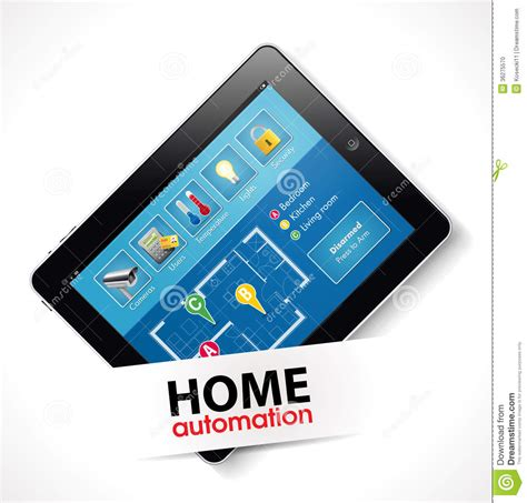 home automation 2 stock photo image 36275570