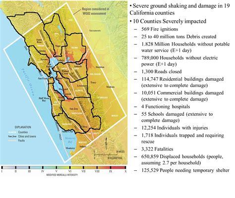 earthquake california bay area 2013 s northern california earthquake exercises repeat of