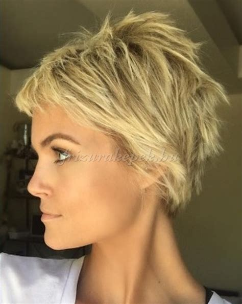 Very Short Hairstyles On Pinterest Messy Pixie Corn Row | pixie frizur 225 k r 246 vid frizur 225 k k 243 cos r 246 vid frizura haj