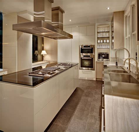 Houzz Modern Kitchen Cabinets New York Modern Modern Kitchen New York By Cottonwood Kitchen Furniture