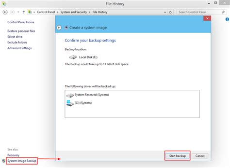 windows image backup how to create a system image backup in windows 10