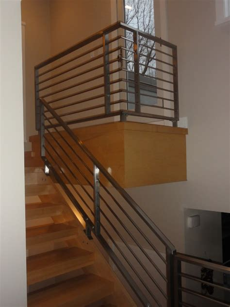 contemporary banister rails stainless steel railings contemporary philadelphia