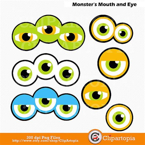 printable alien eyes cute monster eyes clipart clipartxtras