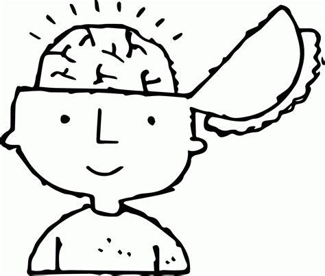 Brain Coloring Page Human Brain Coloring Page Az Coloring Pages by Brain Coloring Page
