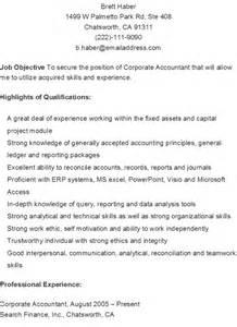 corporate accountant resume john4279