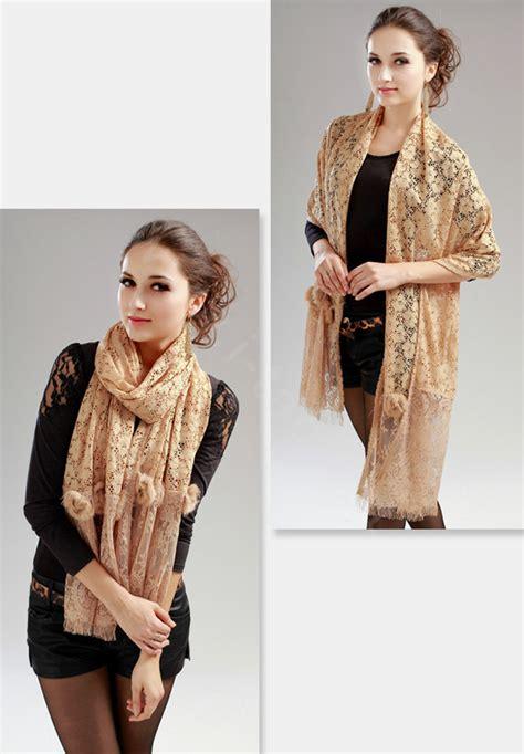 high end fashion flower scarf shawl s warm